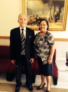 Elder e Sister Costa
