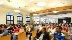 Site bem estar 05_capela lotada na última palestra do diretor do instituto Reginaldo Matosinhos