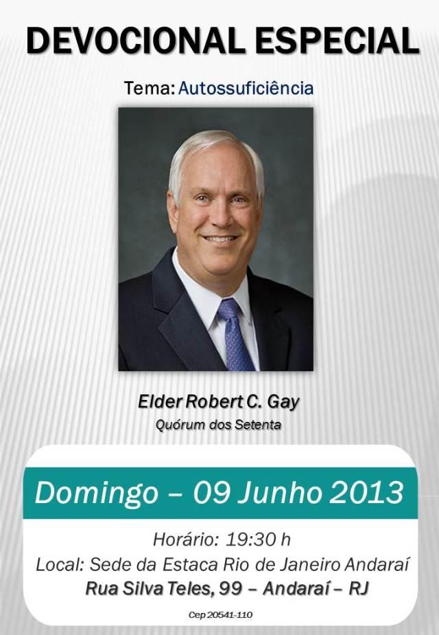 Serão ESPECIAL elder robert c gay
