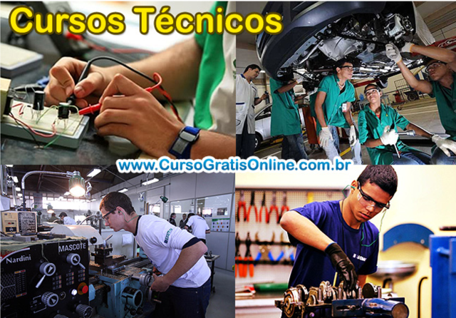 cursos tecnicos